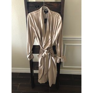 NWT Express Trench Coat XL